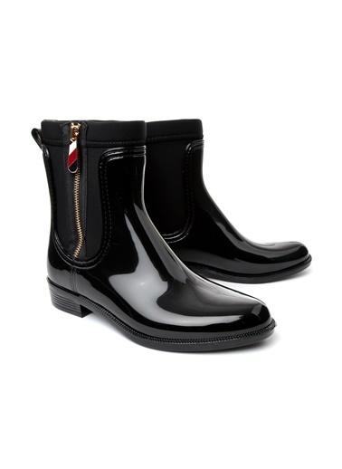 Tommy Hilfiger Yağmur Çizmesi Siyah